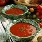 Хлебный суп с калиной и медом