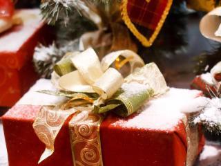 Новогодняя открытка своими руками (рукоделие к Новому году  и Рождеству)