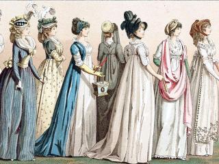 История моды. Мода эпохи Французской революции