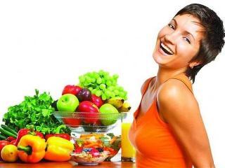 """Вегетарианская """"разноцветная"""" диета"""
