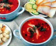 борщ с томатной пастой без свеклы рецепт #11