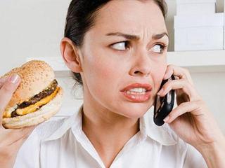 Стресс и лишний вес