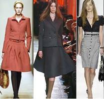 Модные юбки на зиму 2015 года: длинные в пол и модели для полных
