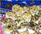 Яйца, фаршированные сырным кремом