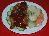 Готовим полный обед из курицы и ее ингридиентов.