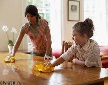 Умелое домоводство: удаление пятен с мебели