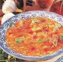 Рецепты первых блюд. Национальная грузинская кухня