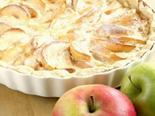 Яблочно-ванильный пирог. Вкусный рецепт выпечки