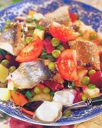 Вкусные рецепты винегретов из рыбы и морепродуктов