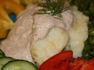 Рыбное филе под ореховым соусом. Праздничный рецепт блюда из рыбы