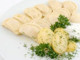 Постные вареники с картошкой и грибами - рецепт с фото