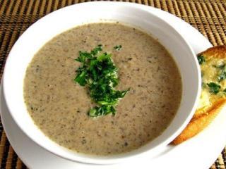 Брюссельский суп из шампиньонов. Вкусный быстрый рецепт супа