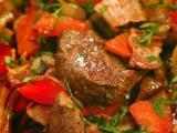 Рецепты вторых блюд из говядины