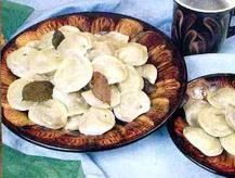 Вкусный рецепт постных пельменей из русской кухни