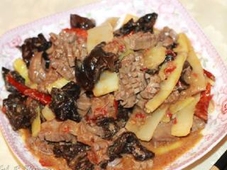 Жареные почки. Рецепты китайской кухни