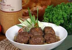 (Рецепт блюда из фарша для микроволновки (СВЧ)