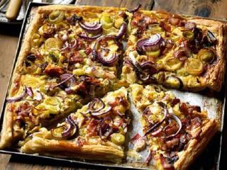 Луковый пирог. Вкусные рецепты выпечки