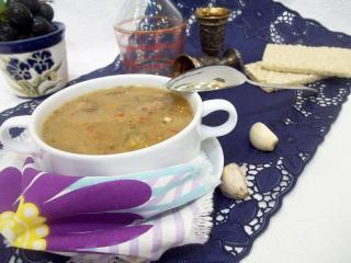 Гороховый суп с фрикадельками. Рецепт с фото