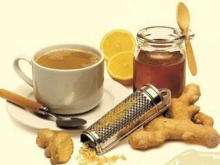 Чай с имбирем и лимоном - основа имбирной диеты для похудения.
