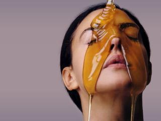 Мед для кожи лица