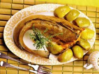 Треска в яблочном вине «Cabillaud au cidre». Французская кухня. Праздничные рецепты  блюда из рыбы к Рождеству и Новому году