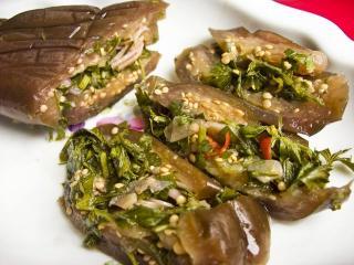 Квашеные баклажаны: рецепт приготовления