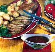 (Праздничный рецепт блюда из мяса. К Новому году и Рождеству)