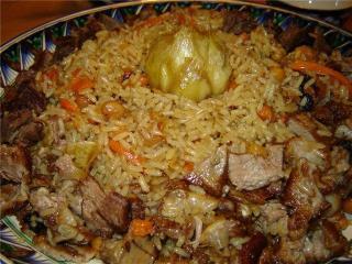 Плов по-узбекски: правильный рецепт с фото