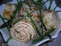 (Вкусные рецепты мясных салатов)