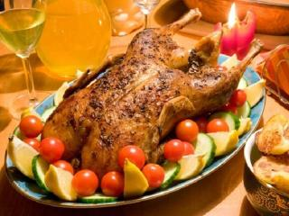 Рождественский гусь (утка) с яблоками. Праздничные рецепты читателей к Новому году и Рождеству (рецепт на конкурс