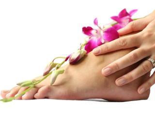 Ванночки для ног из лекарственных растений