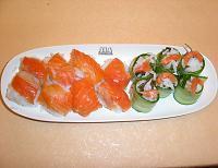 Запеченный лосось с креветками – кулинарный рецепт
