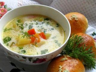 Рыбный суп с пампушками. Рецепт блюда из рыбы и морепродуктов