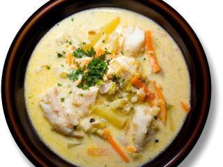 Фламандский куриный суп