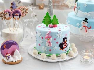Рецепты к Новому году: вкусные торты к новогоднему столу