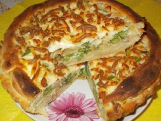 Пирог с капустой или фасолью. Вкусные рецепты выпечки