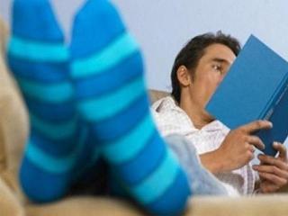 Мужчины в… носках