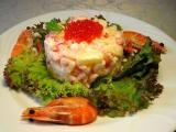 Салат оливье «по-царски» настоящий шедевр для вашего праздничного стола!