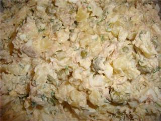 Необычный салат оливье с кабачками - простой и вкусный рецепт!