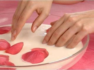 Ароматные ванночки для ногтей