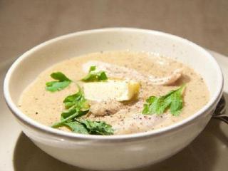 Куриный крем-суп «жюльен»