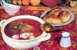 Национальная украинская кухня