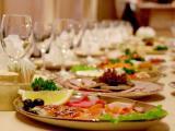 Сервировка стола, холодных и горячих закусок