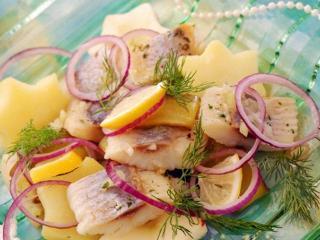 Простой селедочный салат