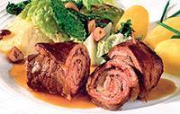 (Вкусный праздничный рецепт блюда из мяса. Любимые рецепты)
