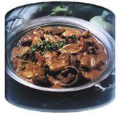 (Простое блюдо из грибов. Рецепт для микроволновки (СВЧ))