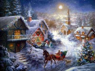 Новогодние традиции в России, приметы, советы, гадания и гуляния.