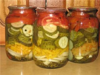 как приготовить фасолевый салат на зиму