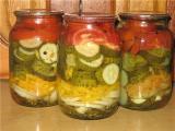 Домашние заготовки овощей на зиму