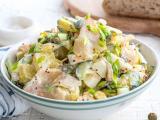 Простые рецепты вкусных рыбных салатов